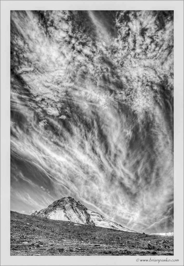 Clouds over Mount Hood - Brian Pasko Photography