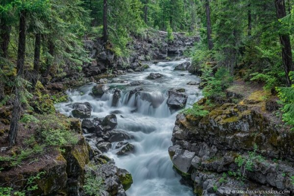 Wild Rogue River in southern Oregon.