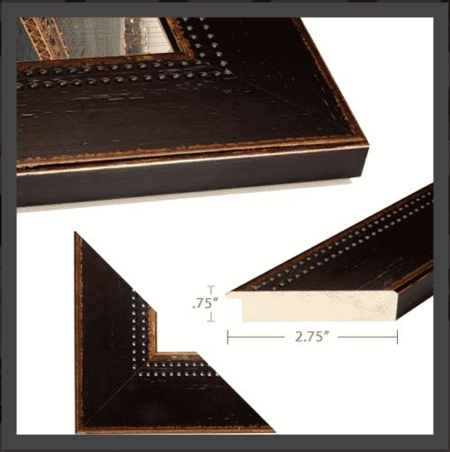 Black Rustic Frame for Framed Image